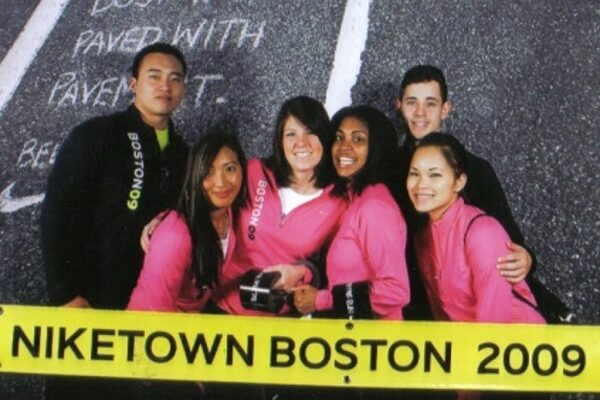 Nike Boston Marathon Fitness Event Staffing